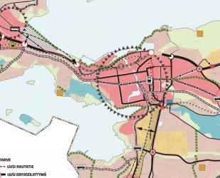 Tampereen yleiskaavan digitalisointi -hanke päätökseen