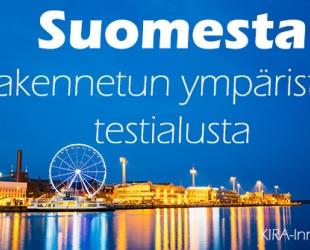 Suomesta rakennetun ympäristön testialusta ja edelläkävijä