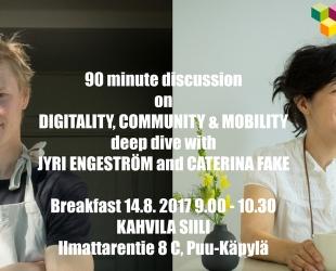 KIRA-digi PAUSE #digitality #community #mobility