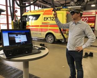 Digi tuli paloasemalle – Lappeenrannassa kokeillaan, miten talojen paloturvallisuus paranisi tietomallien avulla